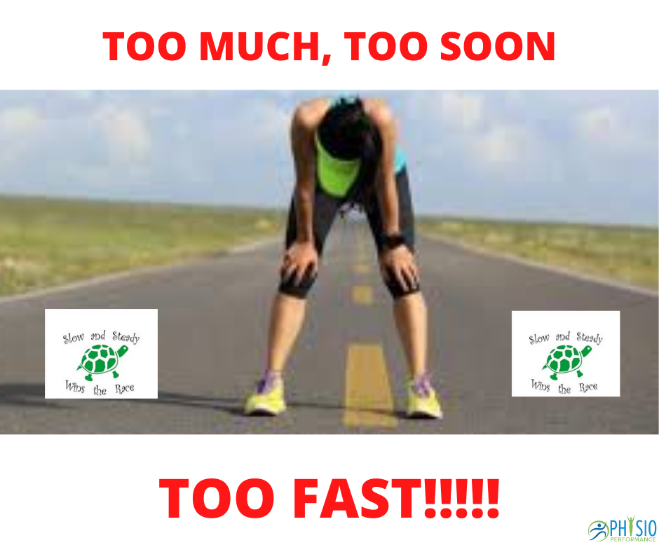 COVID-19 EXERCISE: Doing Too MUCH, Too SOON, Too FAST !!